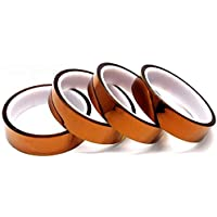 JJSFJH 10/12/20/30/50mm 100ft Kapton Tape High Temperature Heat Resistant Polyimide (Size : 50mm x 30m)