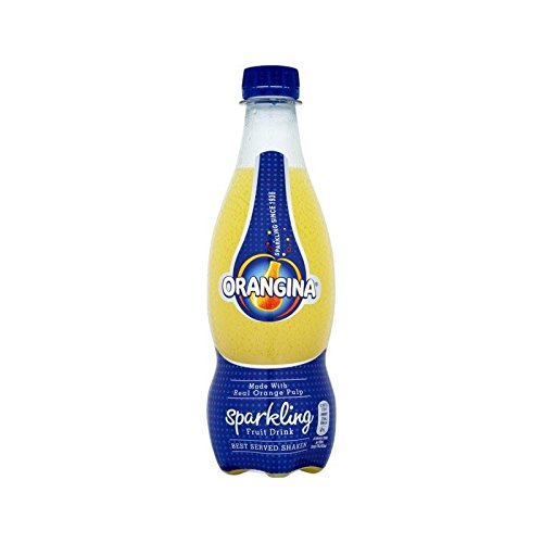 Orangina Sparkling Fruit Drink 420ml (Pack of 6)