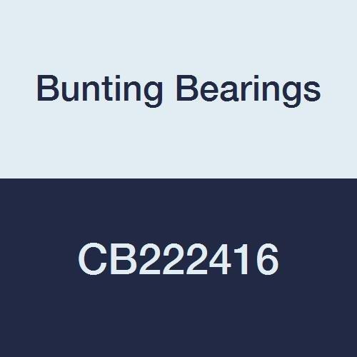 SAE 660 Cast Bronze C93200 1-3//8 Bore x 1-1//2 OD x 2 Length 1-3//8 Bore x 1-1//2 OD x 2 Length CB222416A1 Plain Bunting Bearings CB222416 Sleeve Bearings