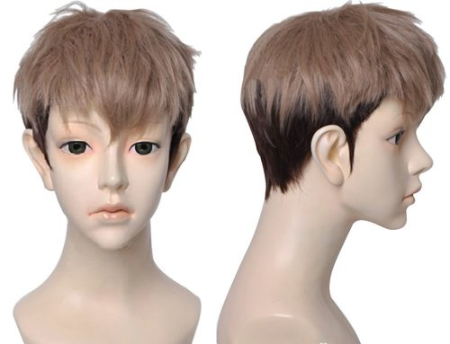 Jean Kirstein Cosplay Costume (Free Hair Cap + Japanese Anime Attack on Titan Cosplay Wig (Jean Kirstein))
