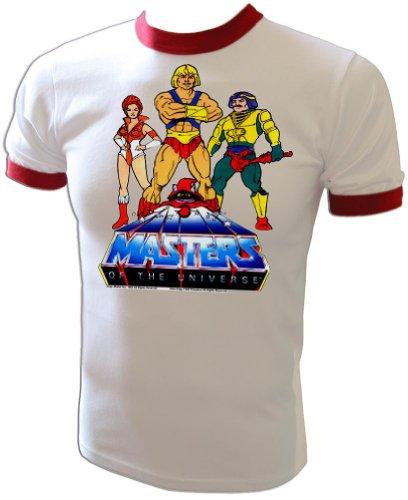 - Vintage 1983 Mattel He-Man Masters of the Universe Cartoon Heroesl T-Shirt