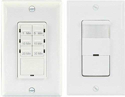 Topgreener bathroom fan timer switch and light sensor switch topgreener bathroom fan timer switch and light sensor switch control30 minute timer preset occupancy sensor pir wall switch tdos5 het06a single pole 180 mozeypictures Gallery