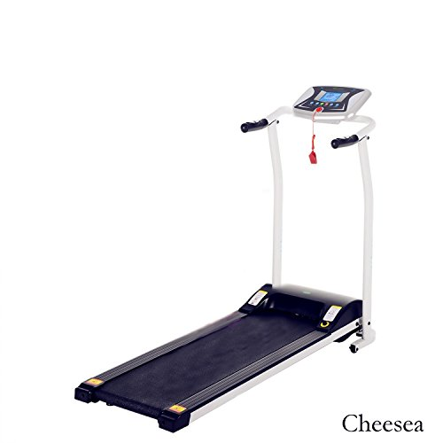 Cheesea S8400 Electric Treadmill, Easy Assembly Foldable Running Machine (White) For Sale