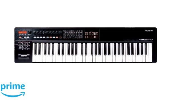 Cakewalk/by Roland A-800-PRO - Teclado eléctrico (USB, con controlador midi): Amazon.es: Instrumentos musicales