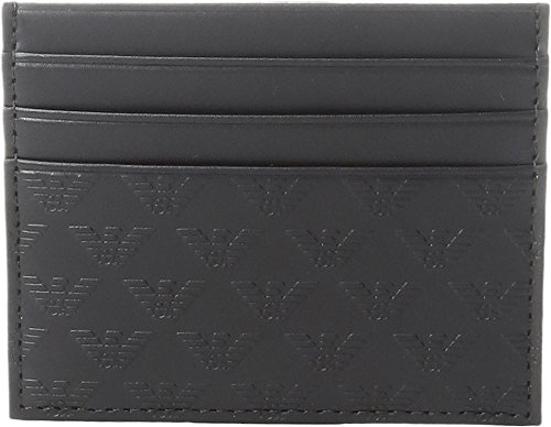 Emporio Armani Men's Quilted Card Holder ()