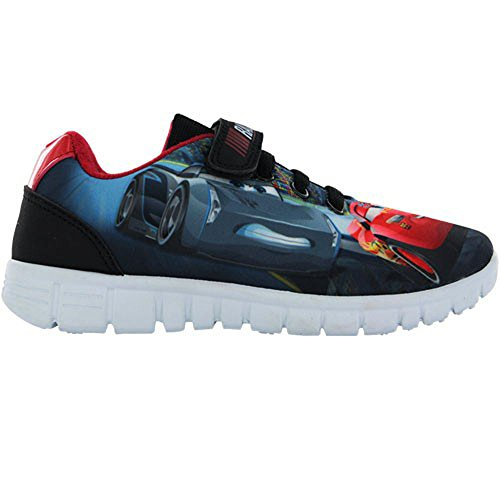 Disney Pixar Cars Race Ready Lightning McQueen Navy Trainers UK Size 12