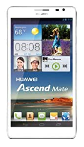"HUAWEI Ascend Mate White Unlocked GSM Phone with 6.1"" IPS+ LCD Touchscreen"