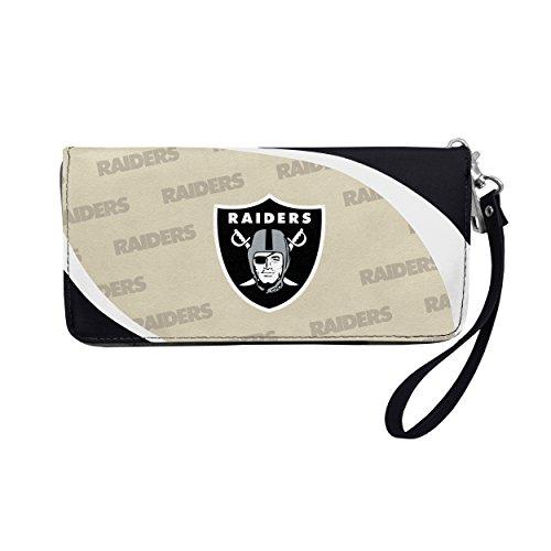 NFL Oakland Raiders Curve Zip Organizer Wallet