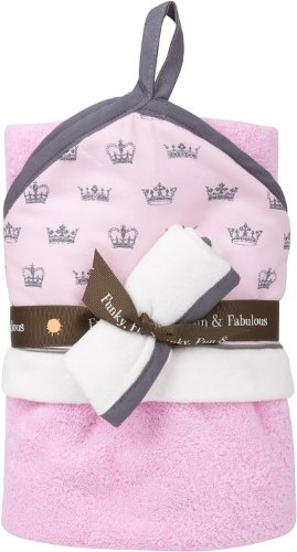 baby.JaR Hooded Towel Set, Little Princess