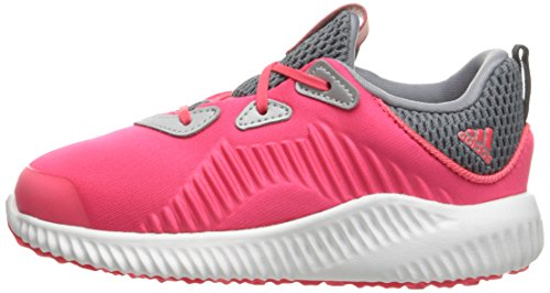 adidas Kids' Alphabounce Sneaker, Shock Red/White/Tech Grey Fabric, 6 M US Infant by adidas (Image #5)