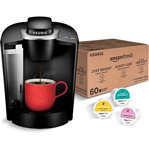 Keurig K-Classic Coffee Maker with AmazonFresh 60 Ct. Coffee Now $58.99 (Was $86.98)