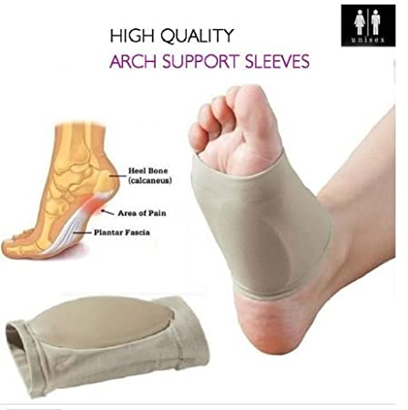 1Pair Silicon Gel Heel Cushion Insoles Soles Spur Support Shoe Pad Feet Care  CF