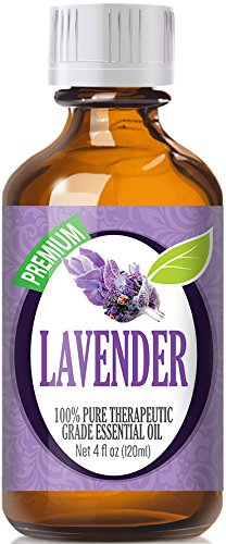Lavender Essential Oil - 100% Pure Therapeutic Grade Lavender Oil - 120ml by Healing Solutions