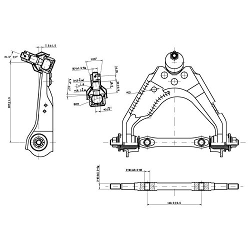 Centric 623.67044 Control Arm and Ball Joint