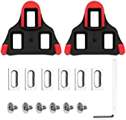 SPD Bike Cleats for Cycling,Road Bike Shoes,Compatible with Peloton Shoes,Shimano Shoes, Look Delta Pedals Sys