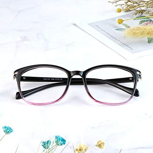 LifeArt Blue Light Blocking Glasses, Anti Eyestrain, Computer Reading Glasses,TV Glasses for Women Men