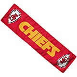 WinCraft NFL Kansas City Chiefs Cooling Towel, Large/8 X 30, White