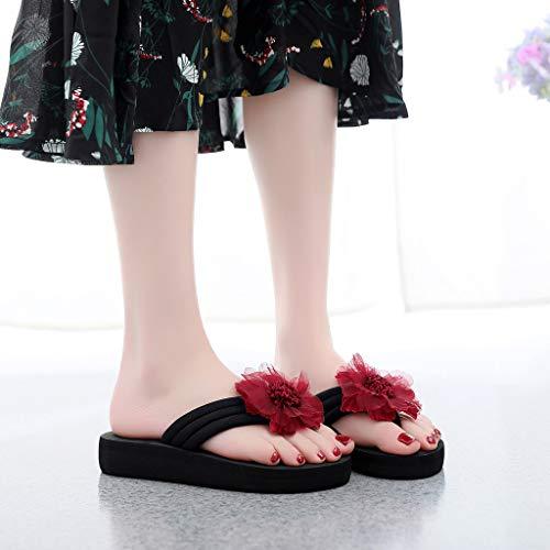 Slippers Vovotrade Da Home Summer Decored Donna Vino Ladies Antiscivolo Stivali Beach Sandali Flip Scarpe Flops Flowers rCn8q6xr4w