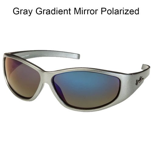 SOLAR BAT Jimmy Houston 2 (Gray, Gray Gradient Mirror Polarized) ()