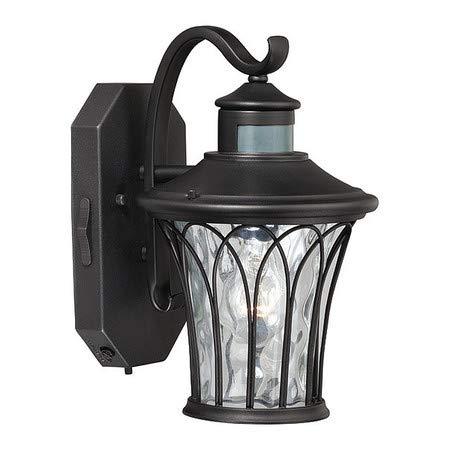 Abigail Dualux 7.5in Outdoor Light Black