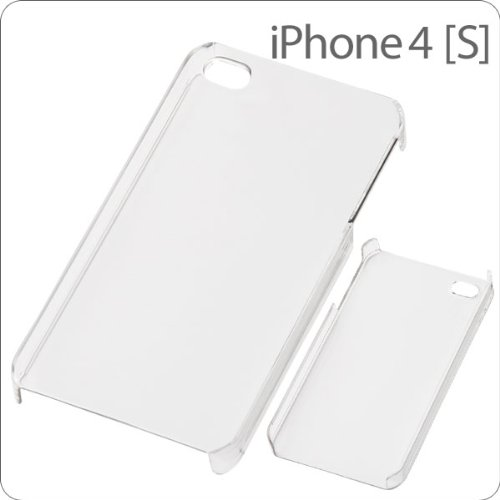 Hard Shell Case for iPhone 4S/4 (Clear)