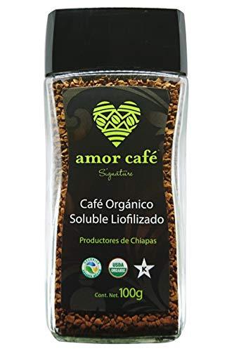 Amor Café Signature Orgánico de Chiapas, Suave y Acaramelado, 100 g