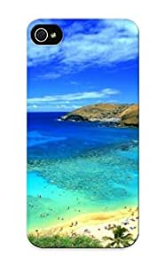 New Premium Flip Case Cover Hawaii Beach Skin Case For Iphone 5/5s