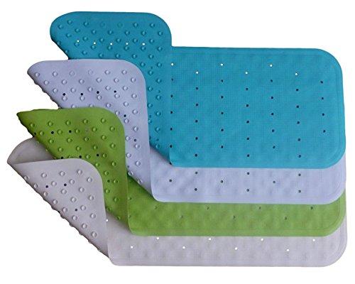Bath Mat Non Slip Natural Rubber Pvc Free Extra Long