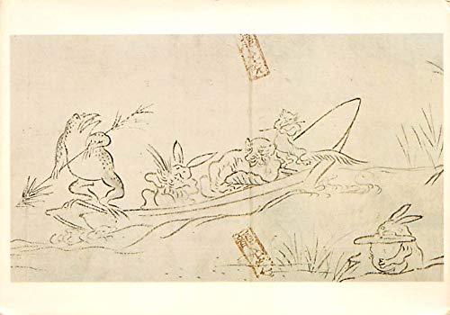 Rabbits Frolicing Animal Scroll Ashikaga Period, Wshington DC, USA Unused