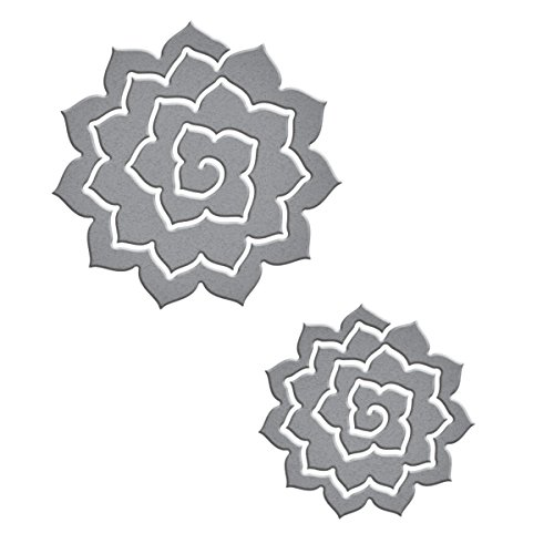 (Spellbinders 3D Pinecone Etched/Wafer Thin Dies)