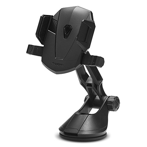 Spigen Kuel TS36 OneTap Car Phone Mount Universal Car Phone Holder with OneTap Technology for iPhone X / 8/8 Plus / 7/7 Plus/Galaxy S9 / S9 Plus / S8 / S8 Plus/Note 8 and More