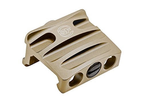 SureFire RM45 Off-Set Rail Mount for a Scout Light (Thumbscrew-Clamp Models Only), Tan