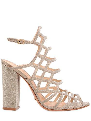 Schutz Sandalo Donna Glitter Oro (EU 37; UK 4)