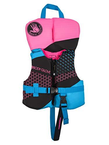 Body Glove 18224IAQUPNK Phantom PFD Life Vest - USCGA Approved Aqua-Pink, Aqua/Pink