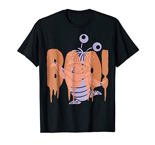 Disney Pixar Monsters Inc. Boo Halloween Graphic T-Shirt]()