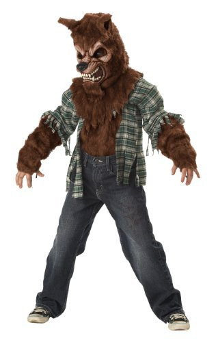 Werewolf Kids Costumes (California Costumes Howling At The Moon Child Costume, Large)