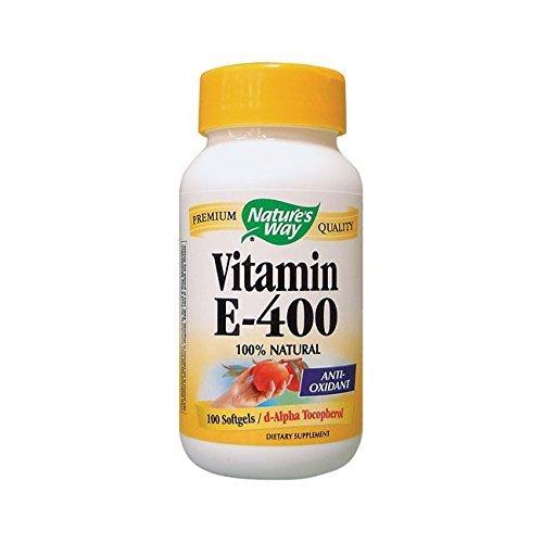 400 Iu Natures Way - Nature's Way Vitamin E 400 Iu 100 Sgels