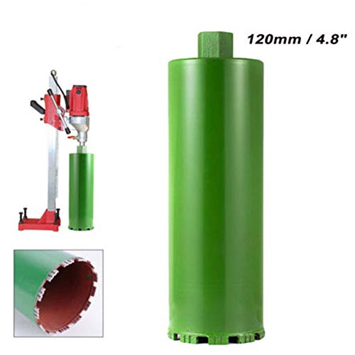 TABODD 4-4/5″ Wet Diamond Core Drill Bit for Concrete – Premium Green Series