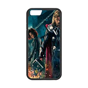 Black Widow And Thor The Avengers Movie 3 iPhone 6 4.7 Inch Cell Phone Case Black 218y-882760