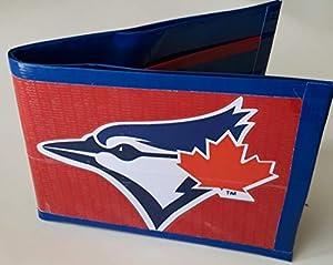 Toronto Blue Jays MLB Baseball Bi-Fold Duct Tape Wallet