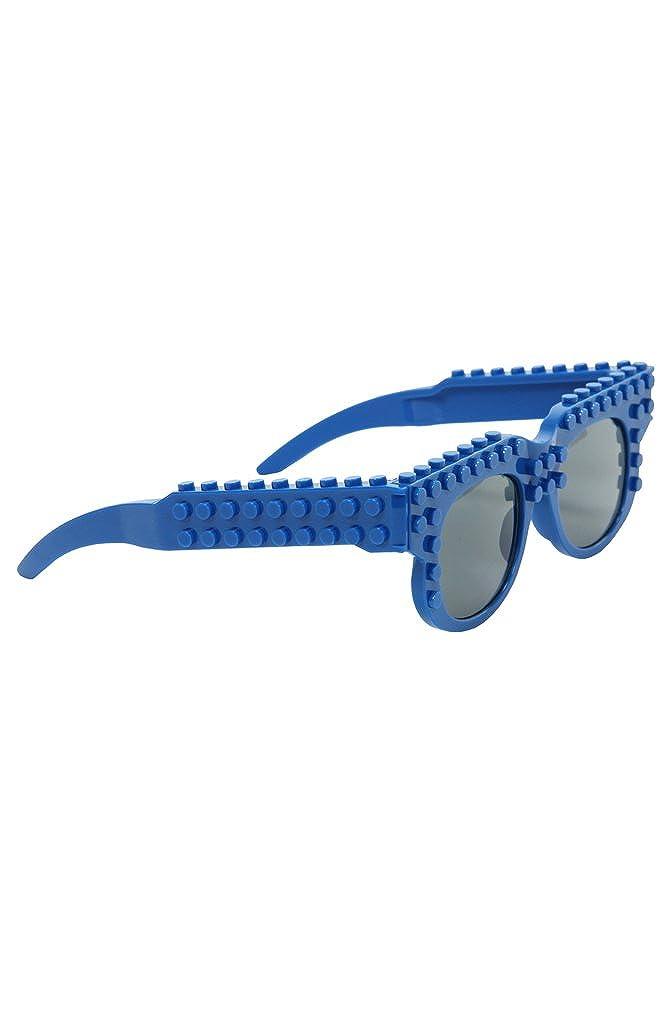 Bricky Blocks Blue Glasses by elope