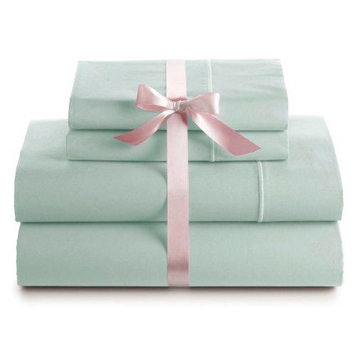 1000 Thread Count Luxury Soft Cotton Silky Sateen Sheet Set, Extra Deep Pocket (King, (Sateen Pocket)