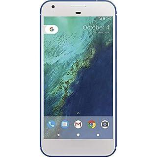 "Google Pixel XL 32GB Verizon and GSM Unlocked, Really Blue, 5"" (Renewed)"