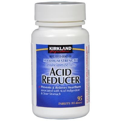 Maximum Srength Acid Reducer Ranitidine 150mg/95 Tablets-Compare to Zantac 150® (Pack of 2)