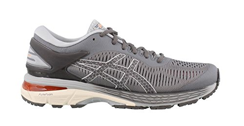 ASICS Womens Gel-Kayano 25 (2A) Running Shoe, Carbon/Mid Grey, Size 11 Narrow