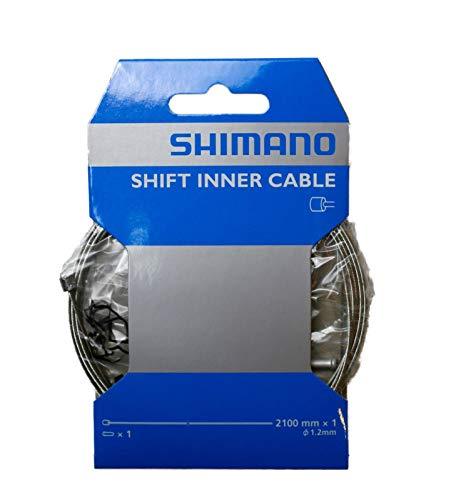 Shimano Dura-Ace polymer coated cable Stainless Steel Derailleur Cable 1.2x2100