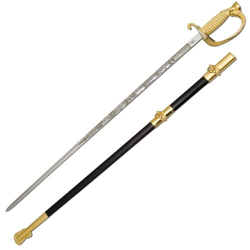 Officers Sword Dress (Factory X U.S. Naval Officers Dress Sword, 30-Inch)