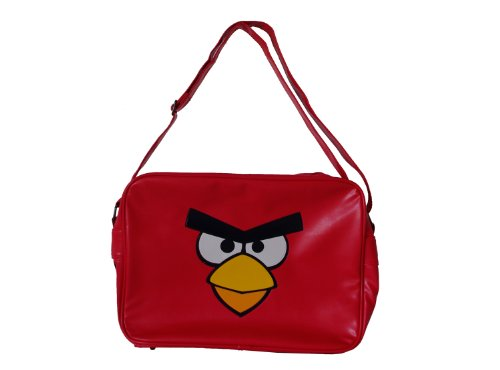 Birds Shoulder Angry Bag Red Large BwzqdWzZ