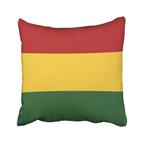 Tarolo Decorative Flag Colors Pillow Case Pilloecase Size 20x20 inches(50x50cm) One - Decent Sunglasses