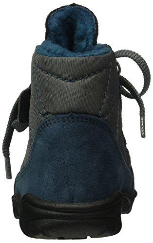 Däumling Hansi - Botas de senderismo Bebé-Niños Azul - Blau (46Turino tiefsee)